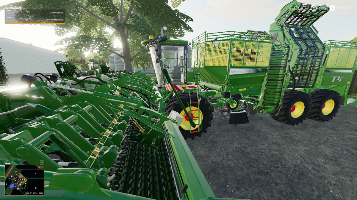 Support}Triple Wide T4-40 Pack - FS19 mod support
